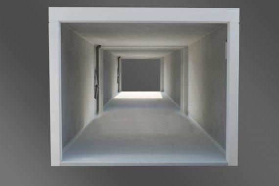 Garagen-Zubehör Rückaussparung