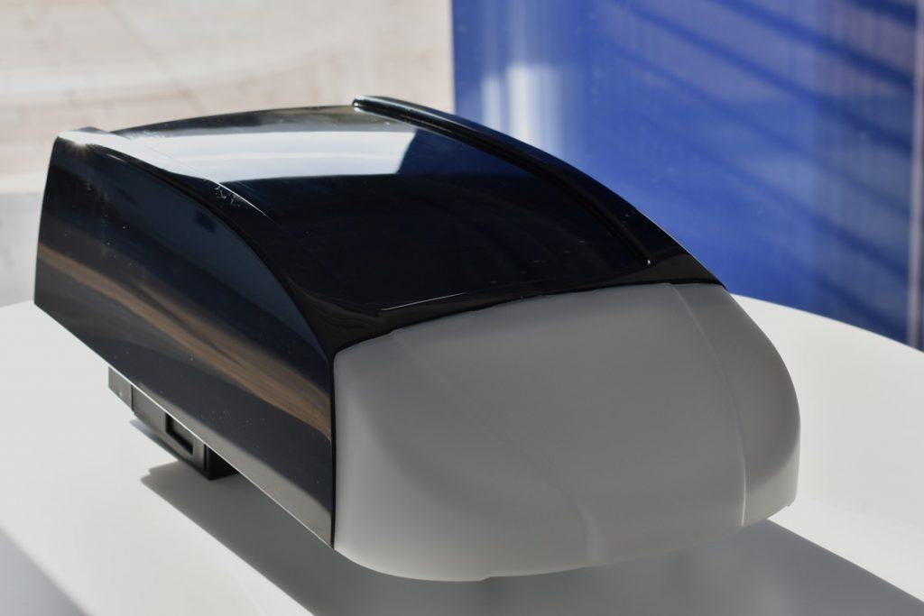 Garagen-Zubehör Solaranlage mit Akku