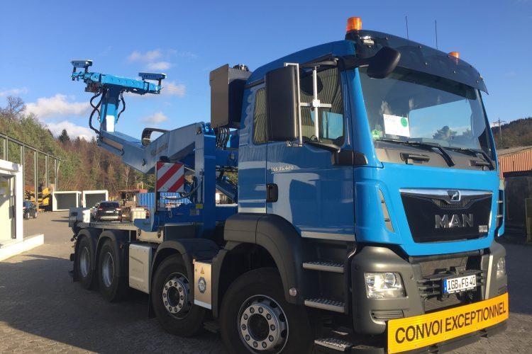 Neu eingetroffen – 420 PS Dieselpower