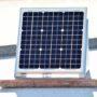 Torantrieb mit Sonnenenergie